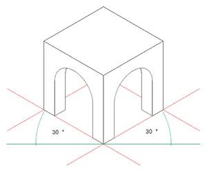 Dessiner Des Batiments En Isometrie